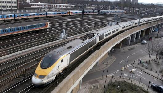 Britisk politi: Gjenstander på jernbanespor kan være brexit-sabotasje