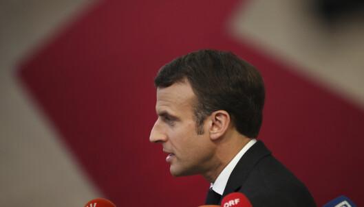 Macron: EU kan ikke holdes som brexit-gissel