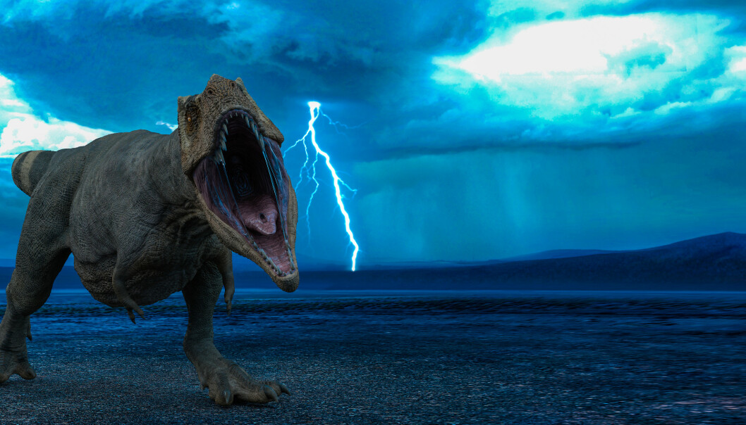 HVILKEN DINOSAUR?: Vet du hvilken dinosaur dette er? Foto: DM7 / Shutterstock / NTB scanpix.