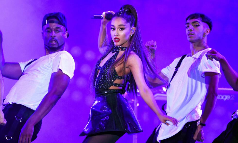 BIFIL?: Ariana Grandes nye låt får fansen til å spekulere. Foto: NTB Scanpix