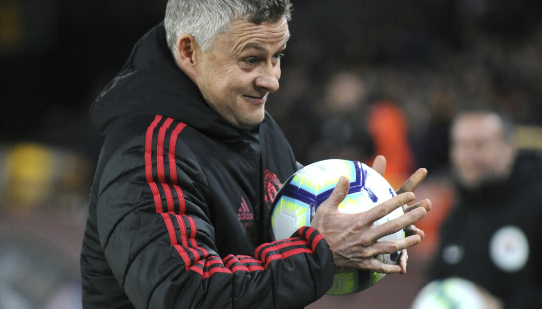 Solskjær og United gikk på et nytt tap mot Wolverhampton. Foto: AP Photo/Rui Vieira/NTB scanpix