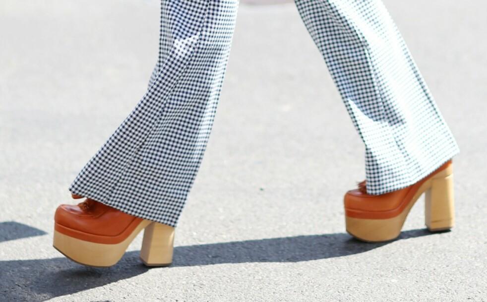 TRESKO: Skoen er blitt populær igjen! Foto: Scanpix