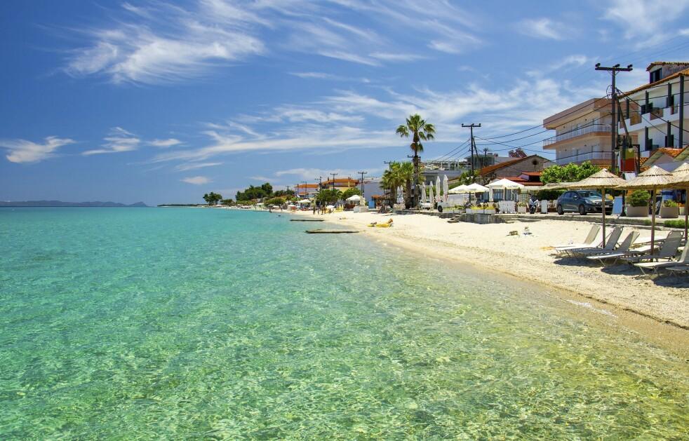 HELLAS: Halkidiki i nord er det området de fleste atenere søker til når de ikke drar ut på øyene. FOTO: NTB Scanpix