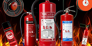 Alt om brannslukkingsapparat