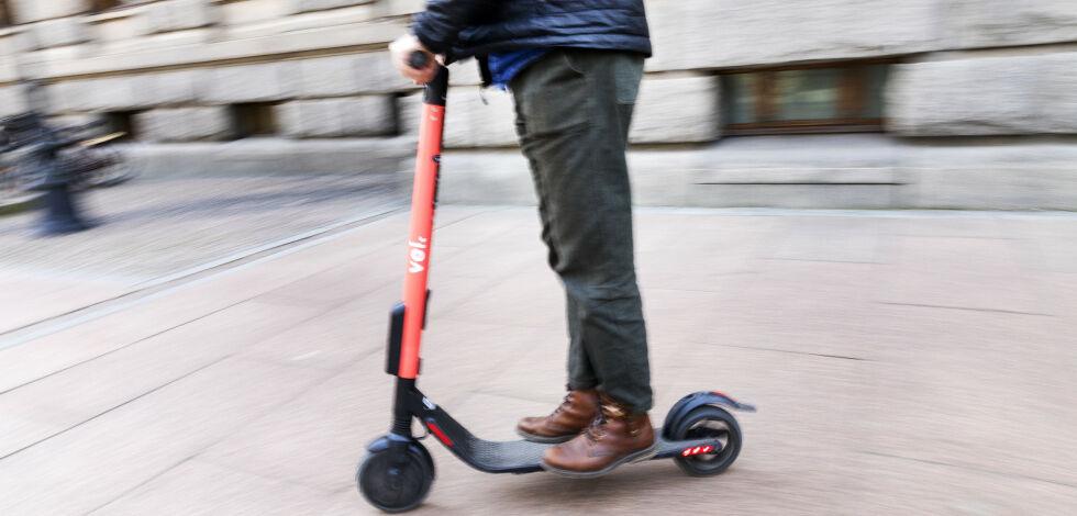 image: Her er «sparkesykkel-bøtene»