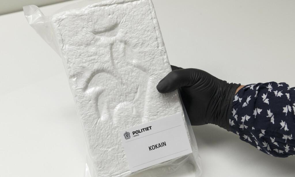 KOKAINBESLAG: En kartlegging utført av sju svenske medier viser et rekordhøyt kokainbruk i Sverige. Foto: Gorm Kallestad / NTB scanpix