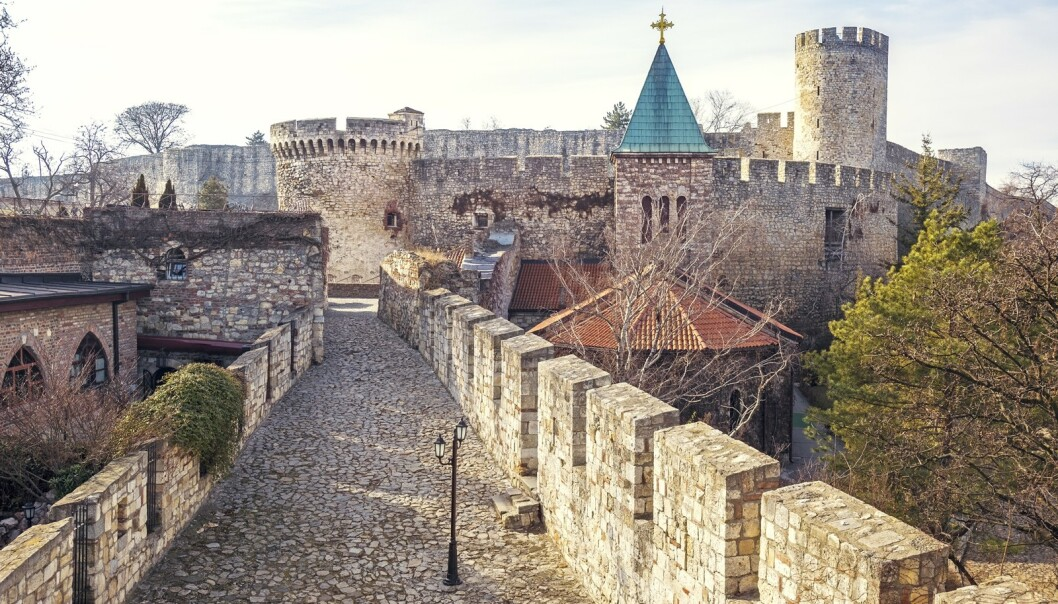 GAMMELT FORT: I Beograd kan man blant annet besøke Kalemegdan fortet. FOTO: NTB Scanpix