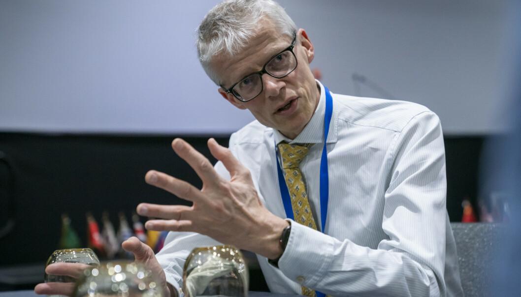Skattedirektør Hans Christian Holte sier det er viktig at alle selv sjekker skattemeldingen. Foto: Heiko Junge / NTB scanpix