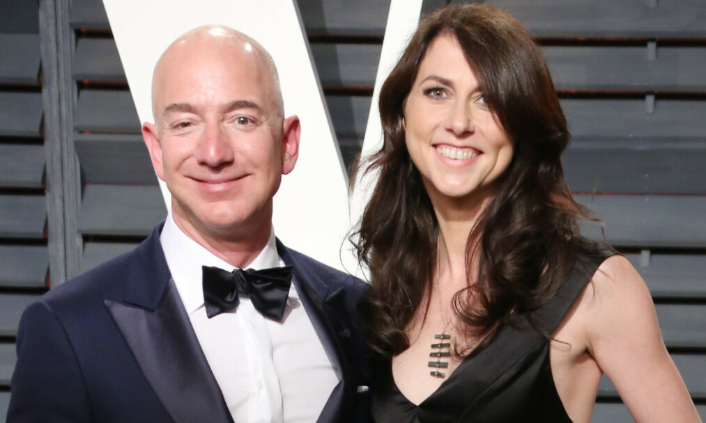 SKILT: Skilsmisseoppgjøret mellom Amazon-grunnlegger Jeff Bezos og ekskona MacKenzie Bezos er ferdig. Foto: NTB Scanpix