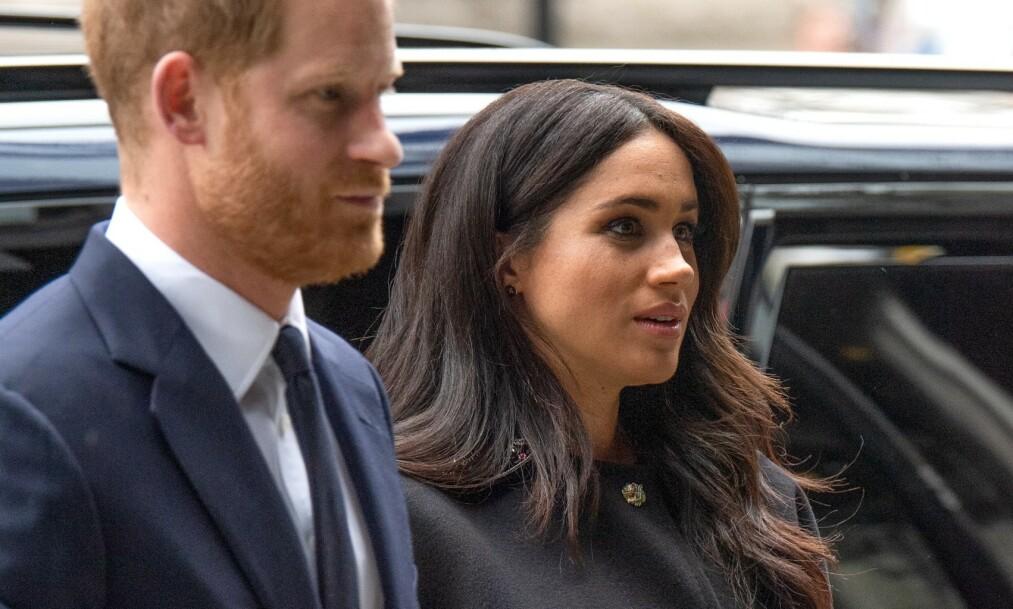 INSTAGRAM: Hertuginne Meghan og prins Harry fikk nylig sin egen Instagram-profil. Brukernavnet har imidlertid tilhørt noen andre. Foto: NTB Scanpix