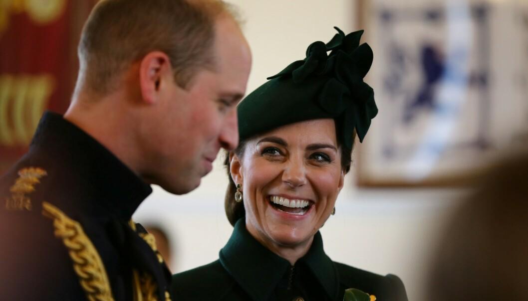 INSTAGRAM OG TWITTER: Hertuginne Kate og prins William er aktive på både Instagram og Twitter. Foto: NTB Scanpix