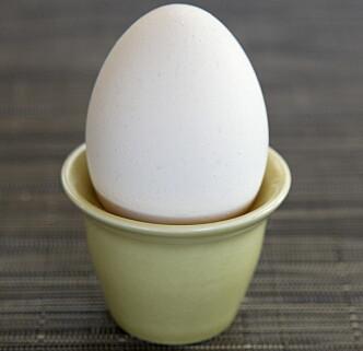 ENKELT: Eggeglass fra Stavanger Flint, finnes i mange varianter (ca. kr 50 pr. stk.) . Foto: Erlend Aas / Scanpix