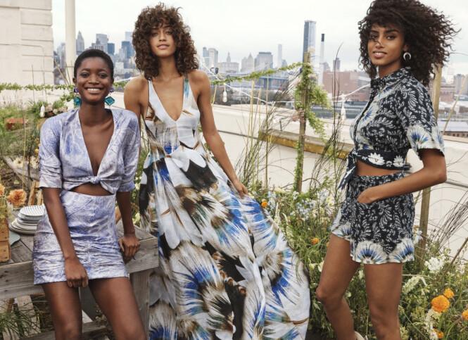 NY KOLLEKSJON: I disse dager lanseres den nyeste H&M Conscious Exclusive-kolleksjonen. Foto: H&M