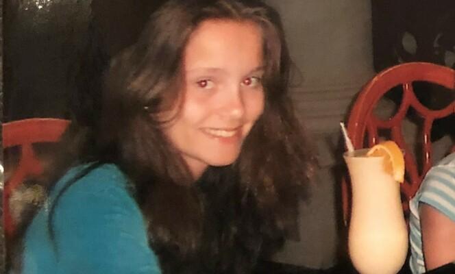 Marlene som 14-åring. FOTO: Privat