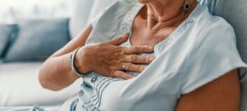 Ny studie: Alarm om oppfølgingen av norske hjertepasienter