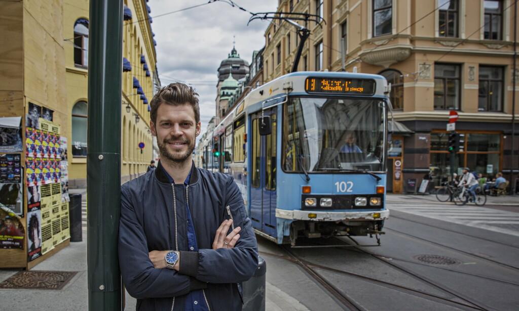 IMØTEGÅR FRP: - Den økte strømprisen i vinter har gjort at gjennomsnittsfamilien går i minus på fem år med Frp i regjering, skriver Rødt-leder Bjørnar Moxnes i dette innlegget. Foto: Jørn H. Moen / Dagbladet