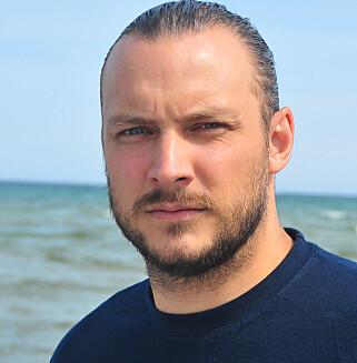 BEKYMRET: Fredrik Myhre vil absolutt kategorisere mengden plast i havet som ille. Foto: WWF Verdens naturfond