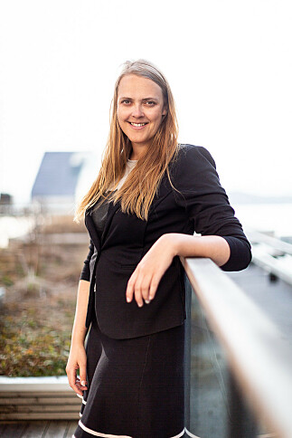 NETTVERK: Gry Skårbø fremhever faggruppene og den globale kunnskapen Accenture står for.