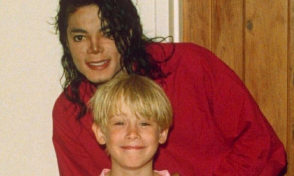 NÆRT VENNSKAP: I kjølvannet av dokumentaren «Leaving Neverland», har mange blitt nysgjerrige på forholdet mellom Michael Jackson og Macaulay Culkin. Foto: NTB Scanpix