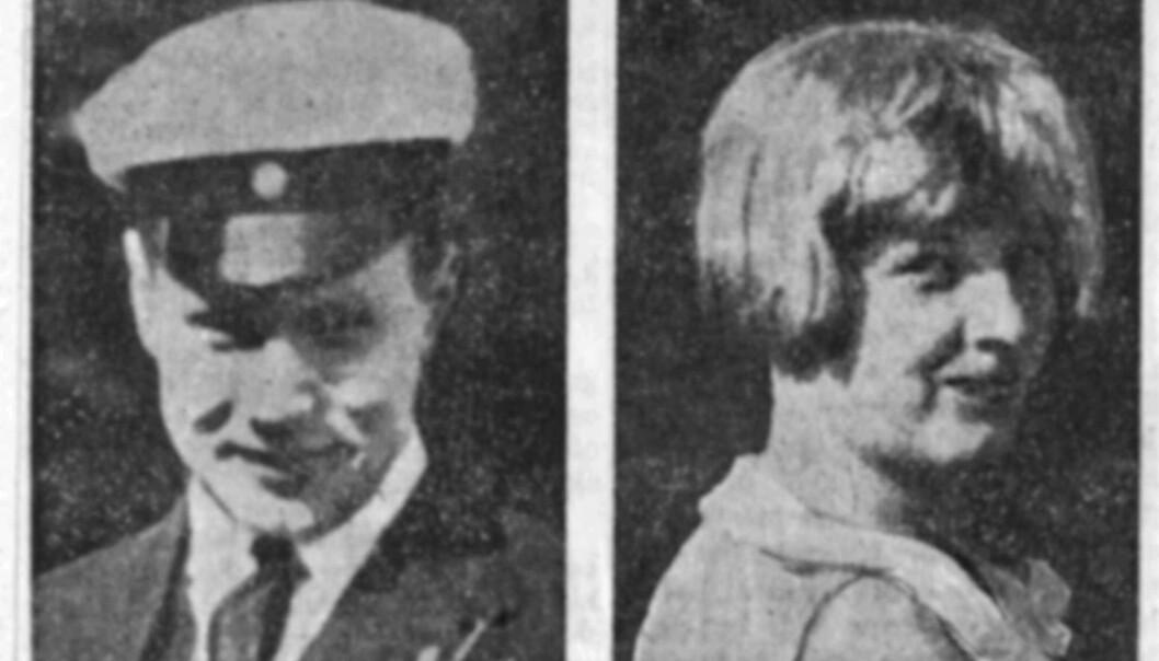 Stockholms Romeo og Julie: Fredrik og Ingun kom begge fra mektige familier som forsøkte å skille dem. Som hos Shakespeare et endte det i tragedie og død. Foto: Ukjent/SVT Bild