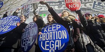 image: Abortlovforslag skaper raseri