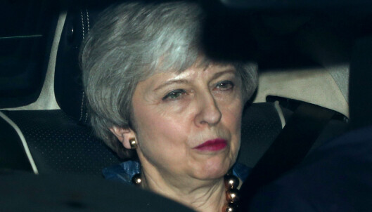 Theresa May med ultimatum