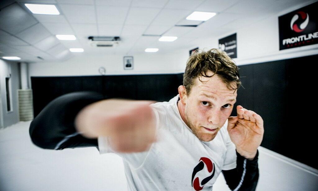 image: Brennhett i norsk MMA: Nå får Hamlet historisk tittelkamp