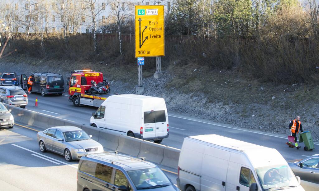 En person er kritisk skadet etter ulykken. (FOTO: Håkon Mosvold Larsen / NTB scanpix)