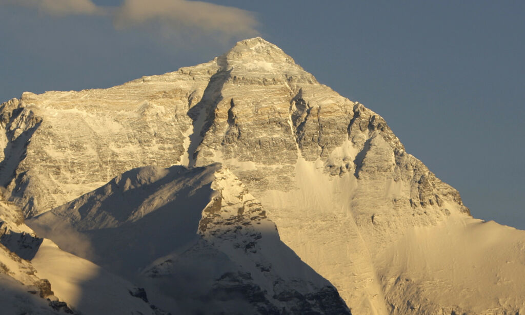 image: Har Mount Everest krympet?