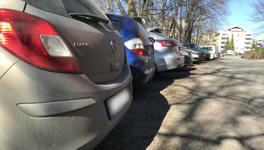 Halvparten av oss parkerer feil vei
