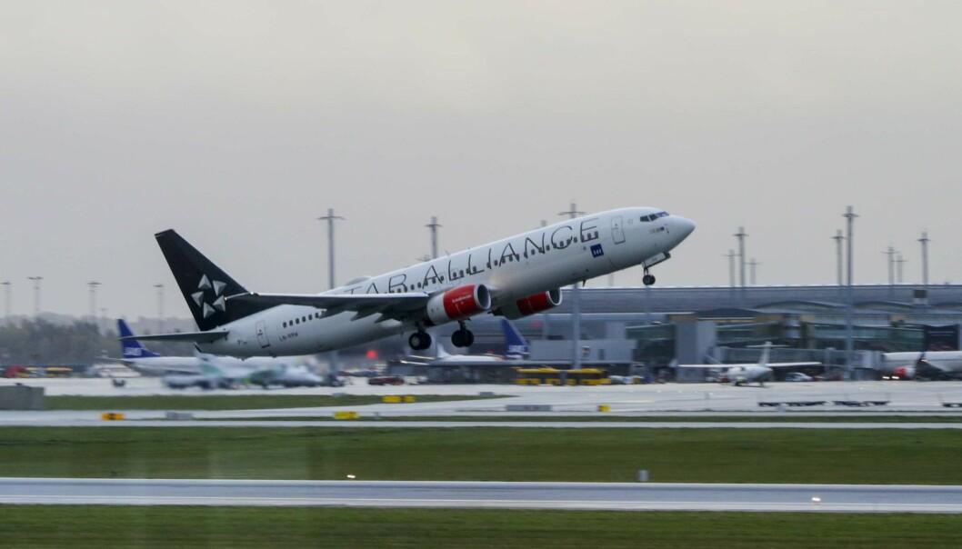 SAS har økt kapasiteten på sine flyginger til Manchester. Foto: Berit Roald / NTB scanpix