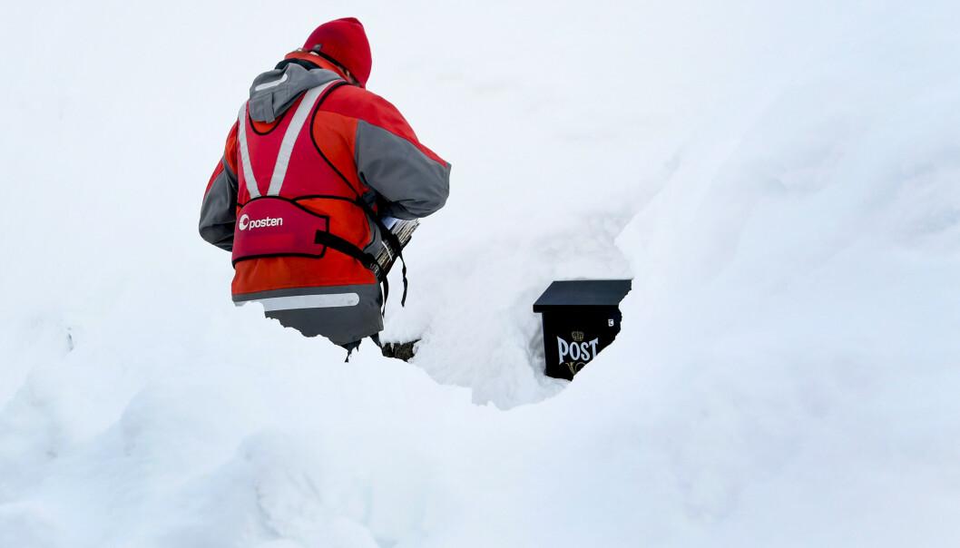 Posten skal frem, men ikke like ofte som nå, om regjeringen får det som den vil. (Foto: Rune Stoltz Bertinussen / NTB scanpix)