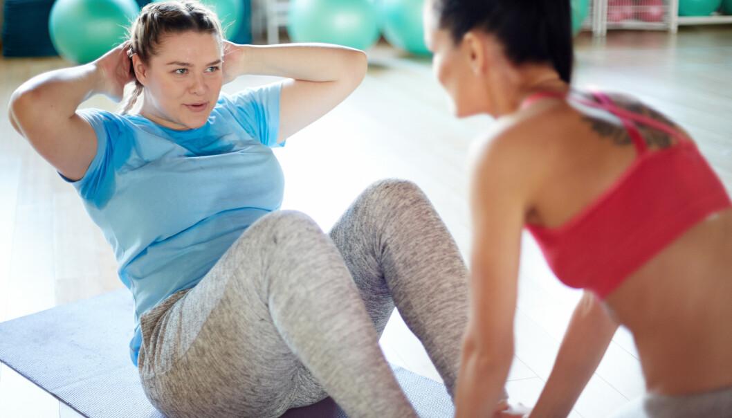 LITT EKSTRA FETT KAN LØNNE SEG: Det er bedre med for mye fett, enn for lite, i forhold til skjelettet ditt. Foto: Shutterstock / NTB scanpix.