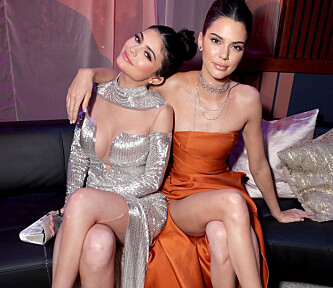 Mandatory Credit: Photo by Eric Charbonneau/REX (7749118bc) Kylie Jenner, Kendall Jenner NBC Universal Golden Globes After Party, Inside, Los Angeles, USA - 08 Jan 2017