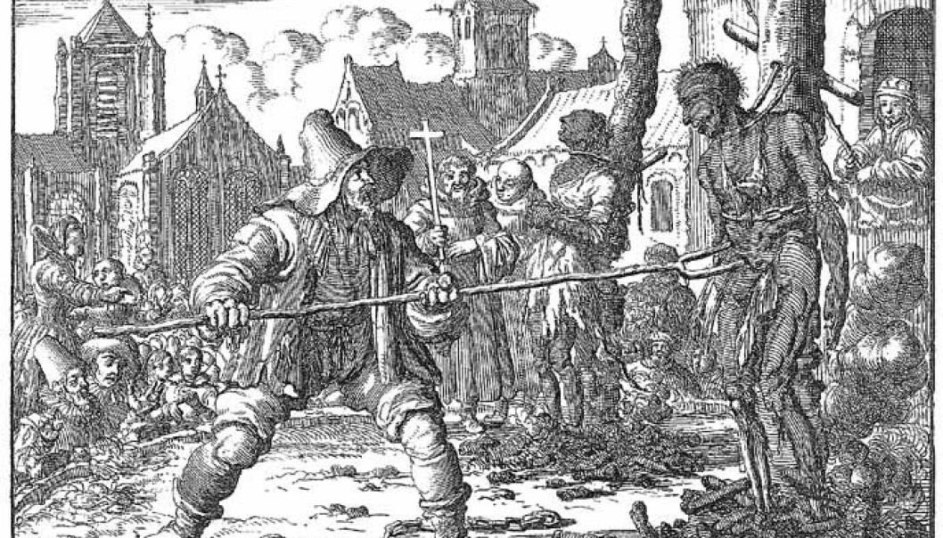 <strong>BØDDEL-DYNASTI:</strong> På 1700-tallet var alle bødler i Norge fra Trondheim og sørover, Danmark ned til Hamburg, Nord-Tyskland og Sør-Sverige i slekt med hverandre – det var dynastier av skarprettere som giftet seg med hverandres døtre, enker og utgjorde en eneste stor familie. Foto: Wikipedia.