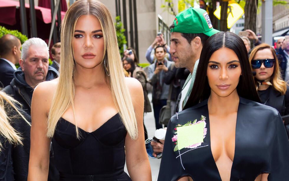 TYVERI PÅ FERIE: Kim Kardashian avslører en oppsiktsvekkende historie fra tenårene som utspant seg under en feire på Hawaii sammen med lillesøster Khloé Kardashian. Foto: NTB scanpix