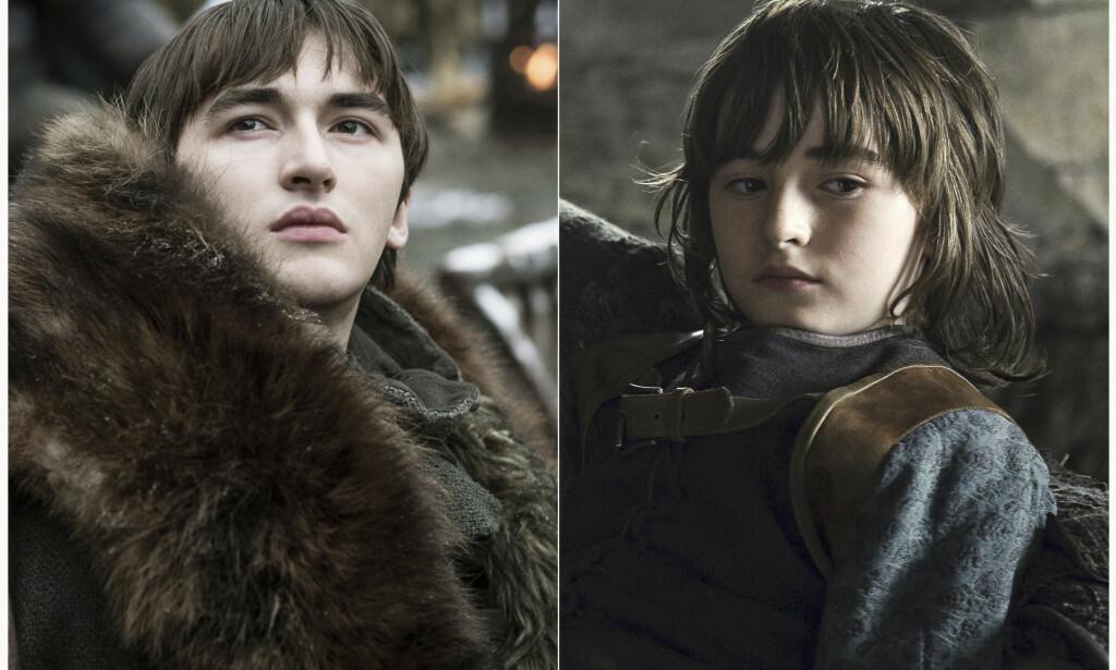 BRAN: Isaac Hempstead Wright spiller Bran Stark. Deler av fansen tror han kan være Nattkongen. FOTO: HBO / AP