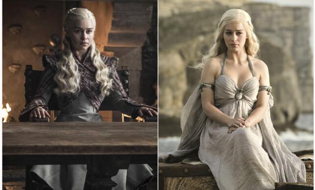 DRAGEMOREN: Flere fans heier på Daenerys Targaryen, spilt av Emilia Clarke, i kampen om jerntronen. Foto: HBO/AP