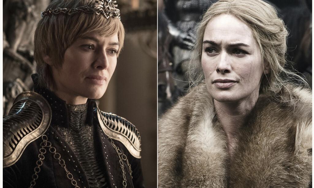 PROFETI: Som barn fikk Cersei Lannister, spilt av Lena Headey, fortalt at hun skulle bli drept av sin lillebror. Vil det skje i siste sesong? Foto: HBO/AP