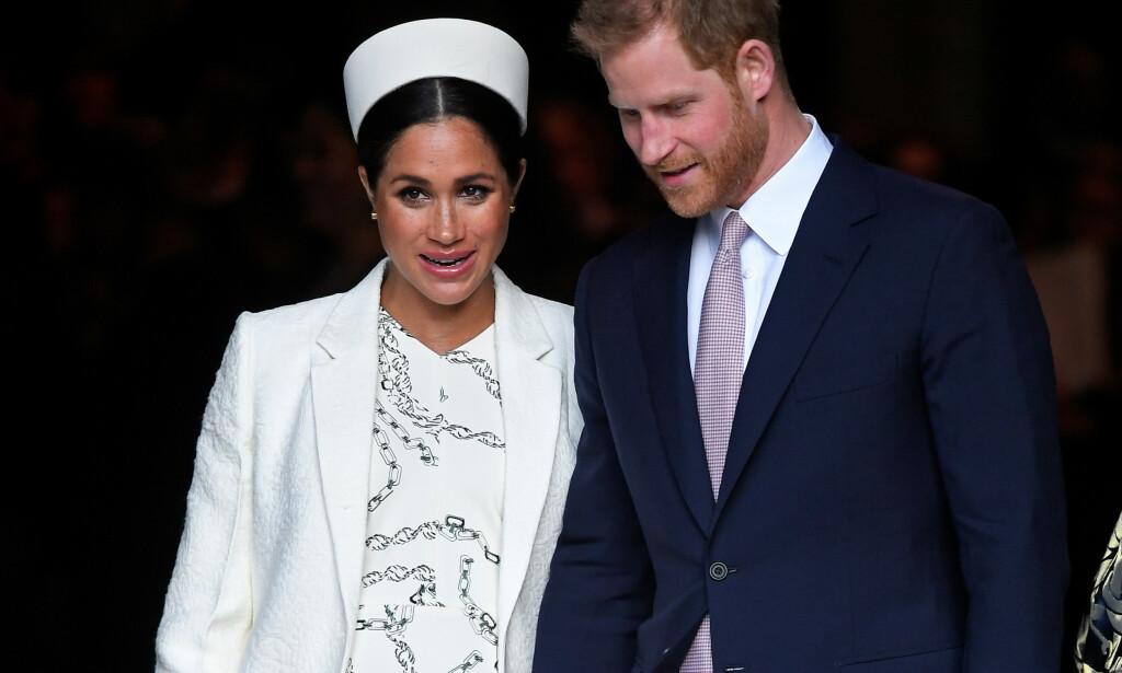 SNART FORELDRE: Hertuginne Meghan og prins Harry kommer ikke bare til å ha bleieskift og våkenetter å tenke på når de får sin førstefødte i løpet av kort tid. Foto: NTB scanpix