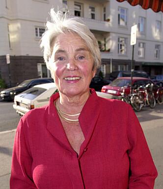 <strong>- JUBELPERIODE:</strong> Tidligere filmdirektør Ingeborg Moræus Hanssen (80) mener at man kan være i sin beste alder i 60-årene. Foto: Thomas Bjørnflaten/ NTB Scanpix.