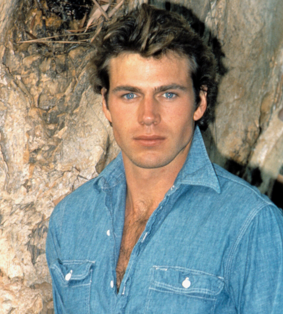 <strong>STJERNEN SOM ALDRI SLUKNET:</strong> Norskættede Jon-Erik Hexum ble regnet som The next big thing i Hollywood. I 1984 døde han under lek med en Magnum 44 ladet med tomhylse. FOTO: NTBScanpix