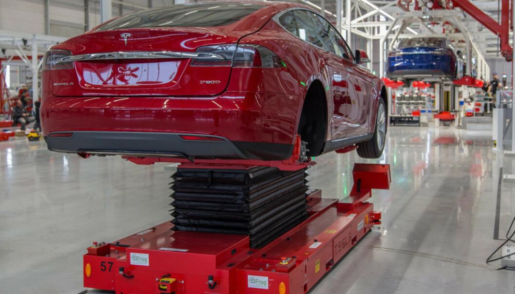INGEN FEIL En rekke kunder av Tesla har opplevd bremsetrøbbel, men det er ikke noe galt med bremsene, sier Tesla. Foto: Fred Magne Skillebæk