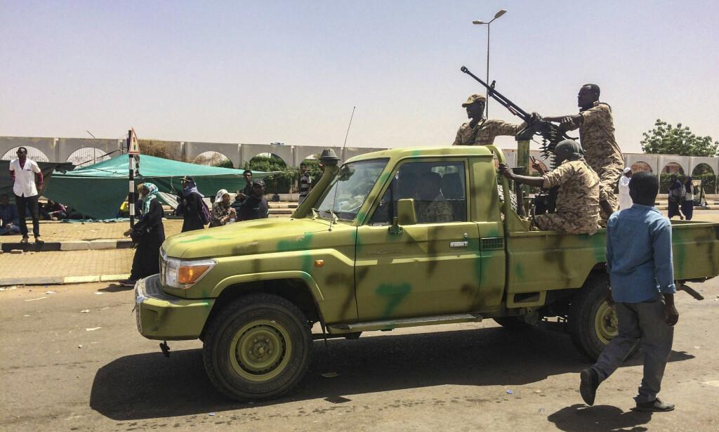 SPENT: Situasjonen på Sudan har de siste dagene vært spent. Foto: AP