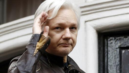 Julian Assange er pågrepet av britisk politi