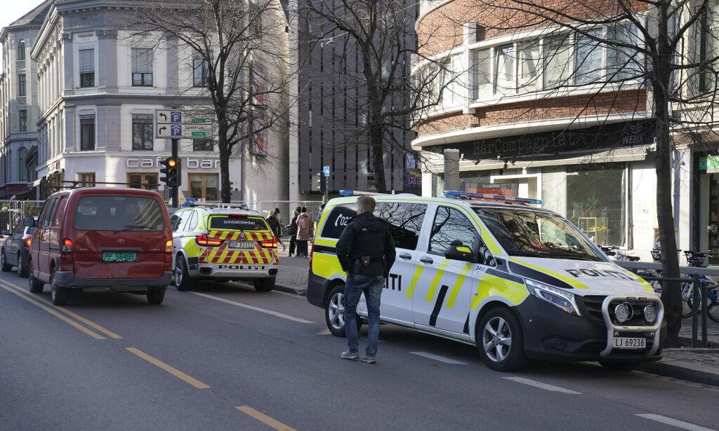 image: Person lettere skadd etter mulig knivstikking i Oslo