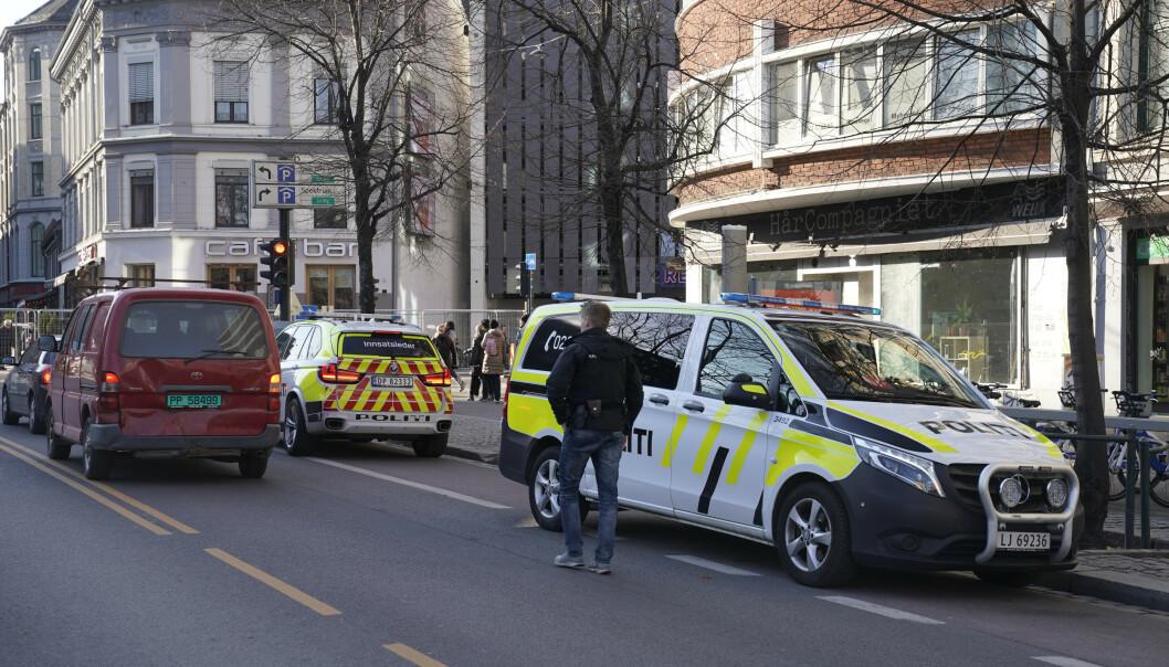 Person lettere skadd etter mulig knivstikking i Oslo