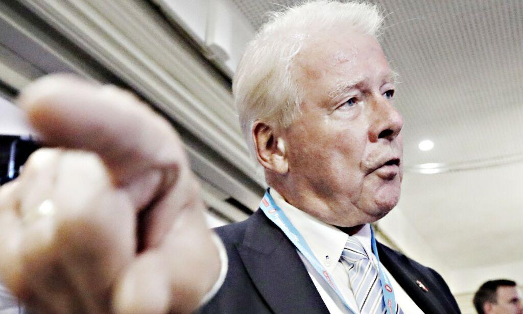 image: Carl I. Hagen vil ha integreringsetat i Oslo