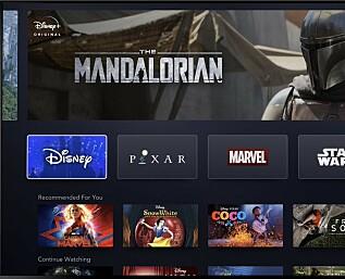 Disney+ lanseres til høsten