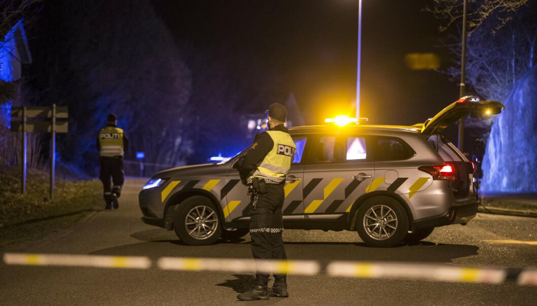 JAKT: Politiet vurderer nå å gå ut med navn og bilde på den jaktede sjåføren. Foto: Trond Reidar Teigen / NTB scanpix
